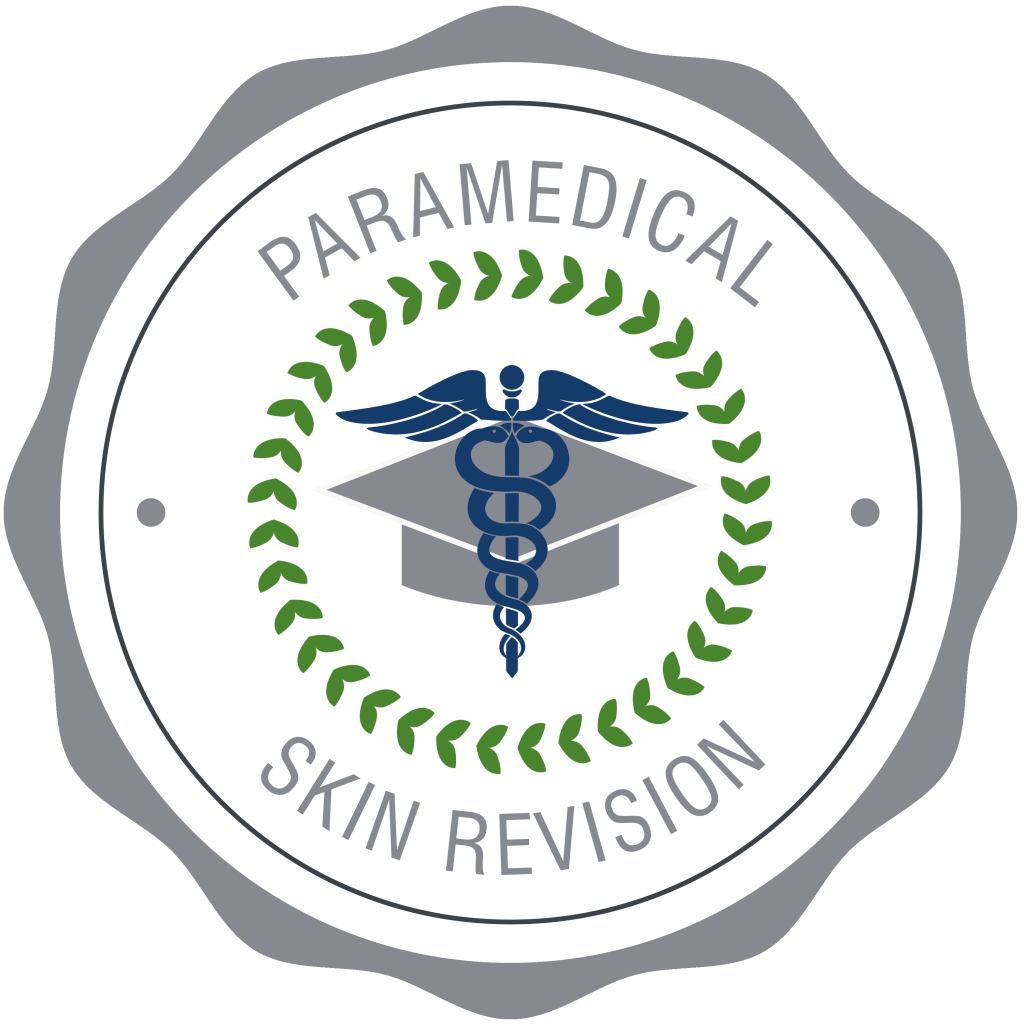Paramedical Skin Revision Badge, DMK Skincare Therapist, Tucson, AZ.  Paramedical and Luxury Skincare.  Best Tucson Skin Revision in Tucson.