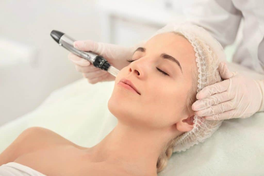 Collagen Induction therapy or Microneedling is one of the best paramedical treatments to get the skin to produce more collagen.  Your skin will look more youthful, bright and a softer complexion.