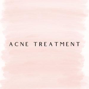 Facial Care - Acne Treatment