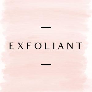 Facial Care - Exfoliant